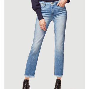 Le high straight jeans from Frame Denim